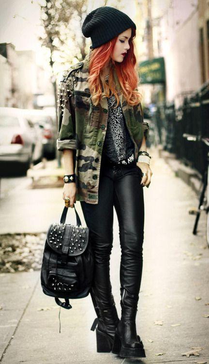 25 Best Ideas About Punk Fashion On Pinterest Punk