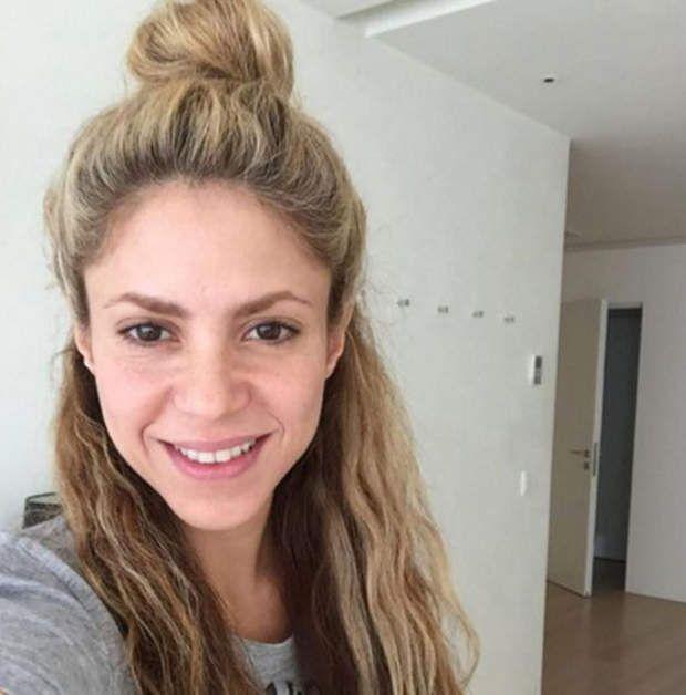 Le selfie sans maquillage de Shakira