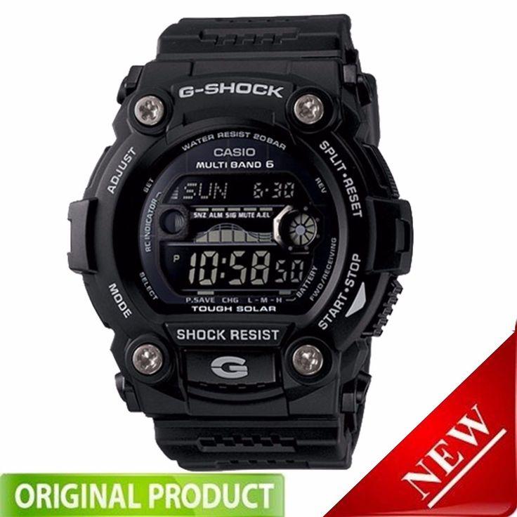 GW7900B-1 G-SHOCK Solar Atomic Digital Sports Watch Black BRAND NEW!