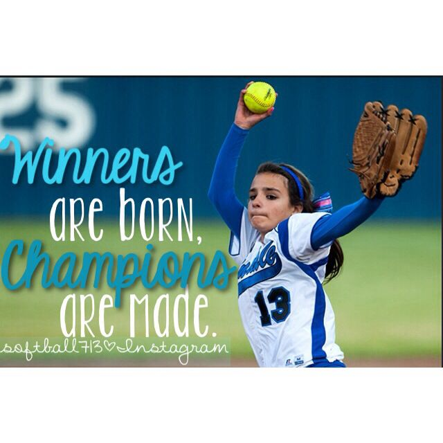 Quote for all sports for fastpitch softball