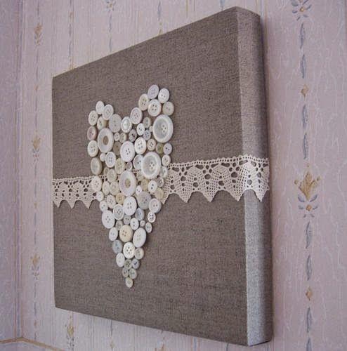 O que fazer com tela de pintura artesanato fácil e decoração ~ VillarteDesign Artesanato