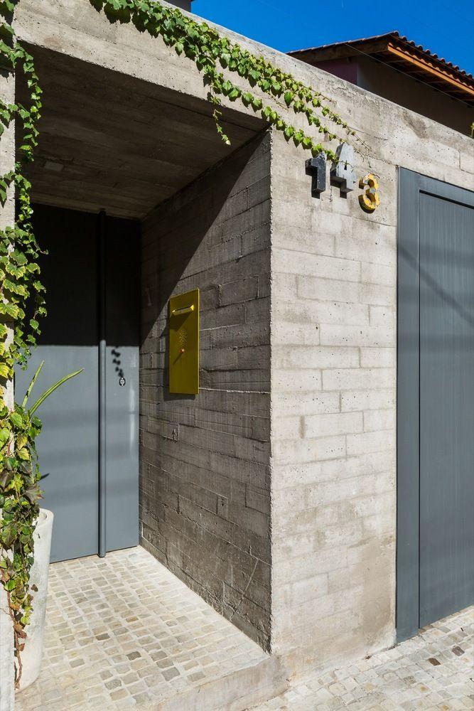 Gallery of Sagarana House / Rocco Arquitetos - 2 & 23 best house front door ideas images on Pinterest | Door ideas ... Pezcame.Com