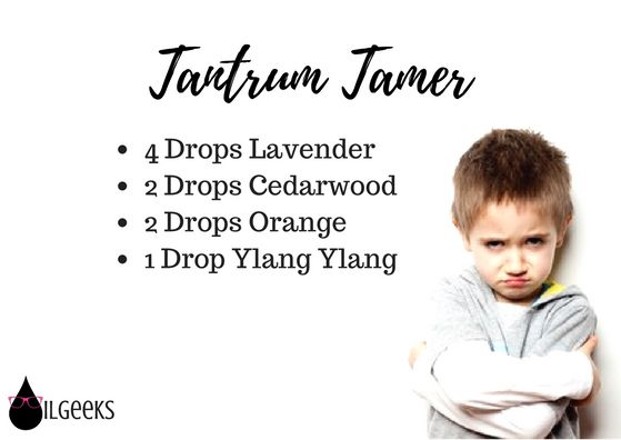 Young Living Diffuser Recipes, essential oils, The Oil Geeks- Tantrum Tamer