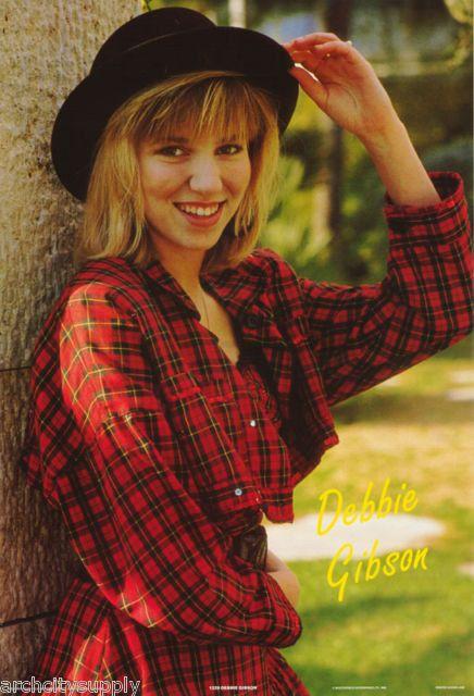Debbie Gibson  Rare  Vintage Poster
