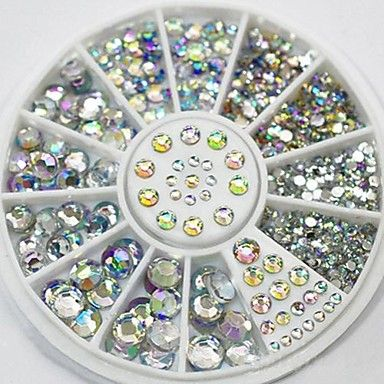 Take your nail art design to the next level with this rhinestones! Get the set at $1.27!!