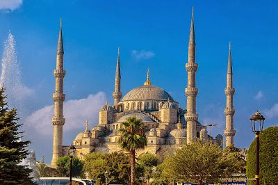 Octavian Serban: Blue Mosque Istanbul...outside...