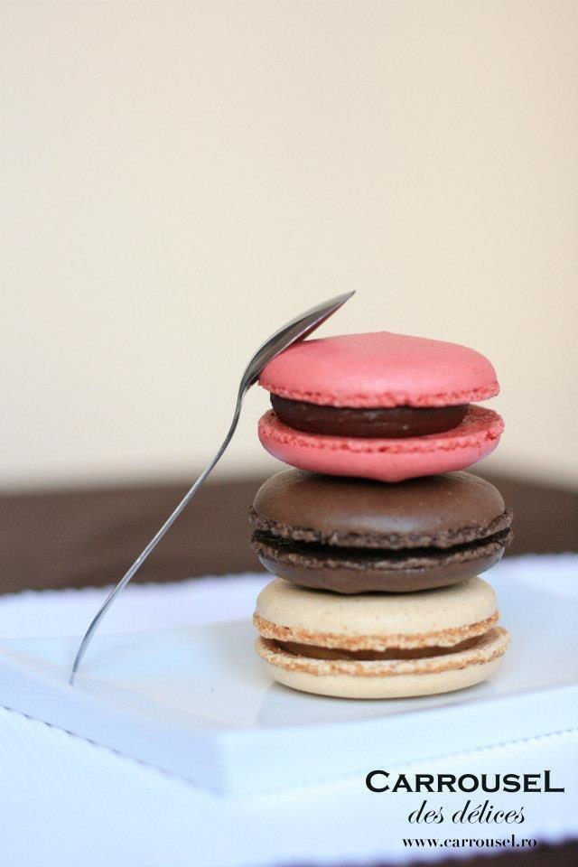 Macarons Fondant doar la Carrousel des Delices