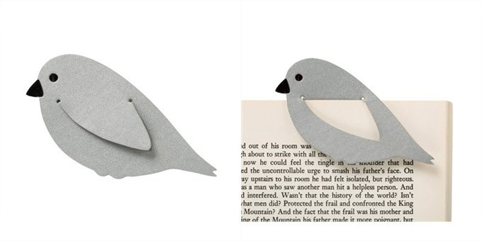Leatherett Bookmark Bird | DIY | For Book | Marcador de Página