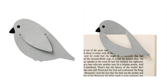 Leatherett Bookmark Bird   DIY   For Book   Marcador de Página                                                                                                                                                      Mais