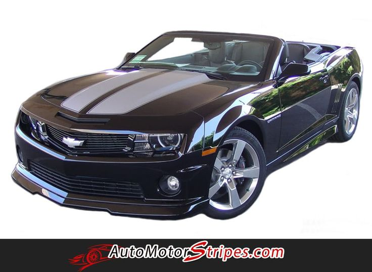 2010-2013 and 2014-2015 Chevy Camaro RS SS R-Sport Convertible OEM Factory Style Rally and Racing Stripes Kit