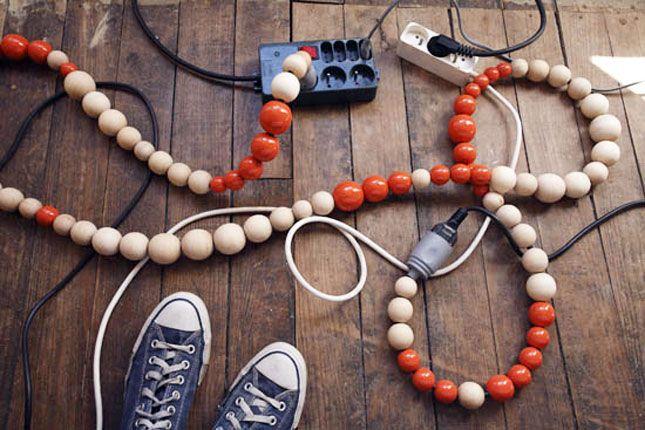 11 façon d'habiller vos câbles