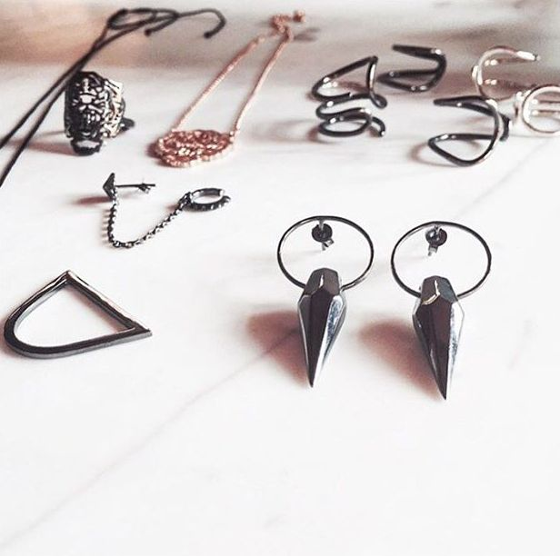 Punk spirit, rocker soul. Accessories that are just the right amount of dark and rebellious! Loving these bad-girl approved @Maggoosh_ pieces, perfect for bold gals! #wecreateharmony #maggoosh Shop the collection here: http://bit.ly/1m86z3m