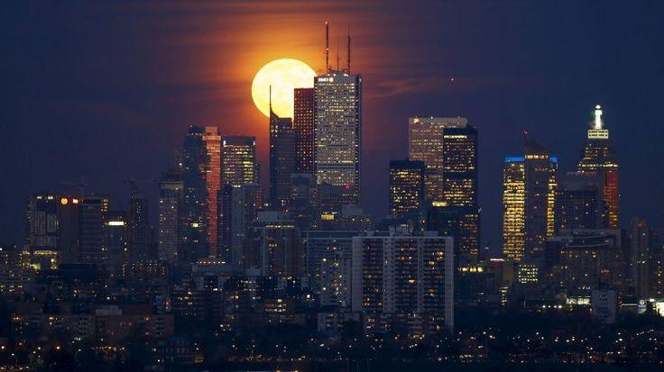 Las fotos más espectaculares de la luna de luto | Luna - América
