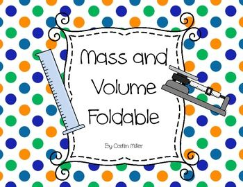 how to find mass using volume