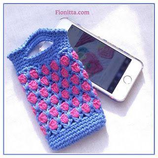 Mis Pasatiempos Amo el Crochet: Funda para banqueta
