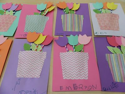This blog has a lot of cute Mother's Day/Teacher ideas