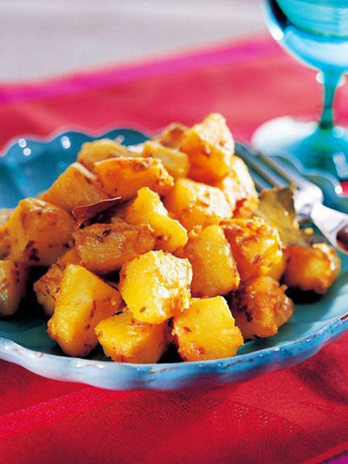 サブジとは、インド料理で野菜の炒め煮のこと。スパイスを使っていつものじゃがいもが大変身。|『ELLE a table』はおしゃれで簡単なレシピが満載!