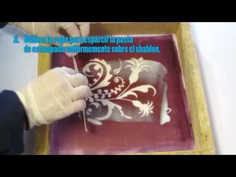 VIDEO PROCESO DE ESTAMPADO CON CAVIAR – Experimentacion textil artesanal