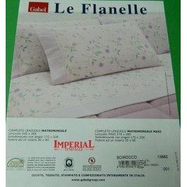 #COMPLETO LENZUOLA DI FLANELLA ROSA MATRIMONIALE GABEL SCIROCCO #lenzuola #letto #casa