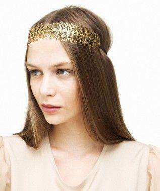 Hellena by Aura Headpieces $200.00 A Greek Goddess understated statement piece. Ideal for brides.