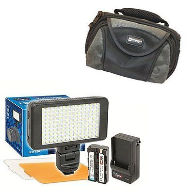 Batteries and Power Accessories: Canon Vixia Hf R200 Camcorder Lighting Vidpro Ultra-Slim Led Light Kit -> BUY IT NOW ONLY: $59 on eBay!