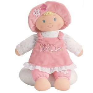 Gund My First Dolly Blonde Stuffed Doll
