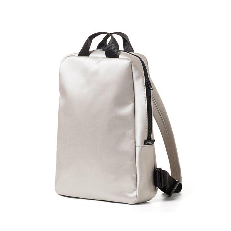 Silver bag, Waterproof Laptop bag , Fabric Backpack, Backpack women, laptop bag 15 inch, Canvas Rucksack, Backpack silver, Laptop Backpack by KisimBags on Etsy https://www.etsy.com/listing/271030775/silver-bag-waterproof-laptop-bag-fabric
