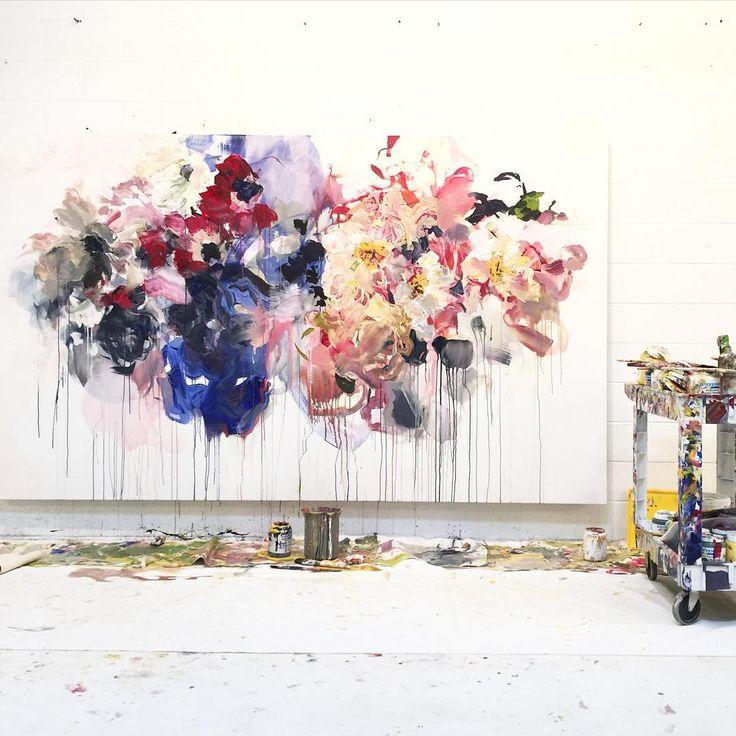 flowers floating through | bobbie burgers