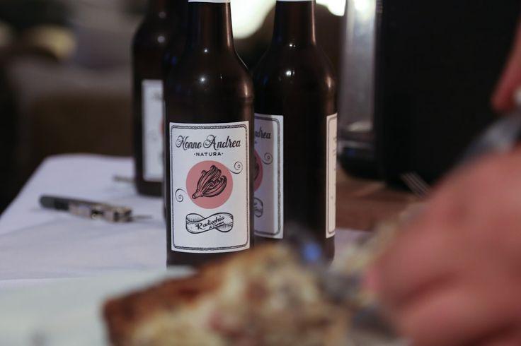 ...e nel bicchiere! #birra al #Radicchio #Rosso #Treviso #IGP