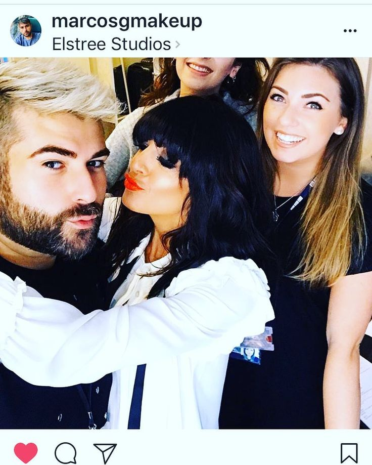 """2,568 Likes, 108 Comments - Claudia Winkleman (@amiclaudiawinkleman) on Instagram: """"Repost @marcosgmakeup. Massive thank you to him and @amyhair4 @sineadmckeefry"""""""