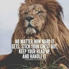 Image result for lion motivational quotes
