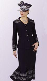 Liorah 3pc Knit Skirt Suit