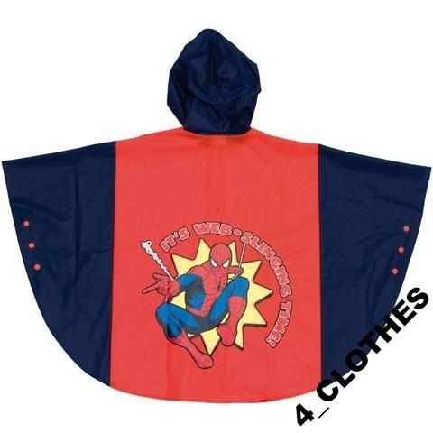 Peleryna przeciwdeszczowa poncho Spiderman Disney