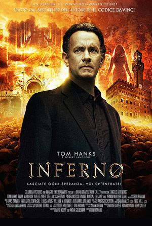 In Inferno, Tom Hanks will repeat the part of Robert Langdon, the Harvard symbologist and primary character of Dan Brown's arrangement of top rated books. Description from vcpost.com. I searched for this on bing.com/images
