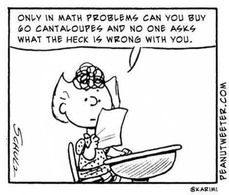 Why do i like math essay cartoon