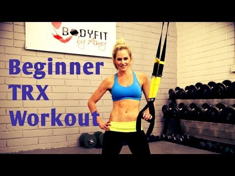 25 Minute TRX Beginner Instructional Workout - YouTube