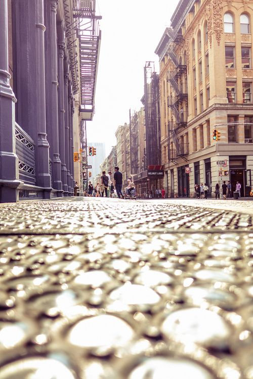 newyorkcityfeelings:  New York City by Vivienne Gucwa  love me my BURTON store SoHo Corner!