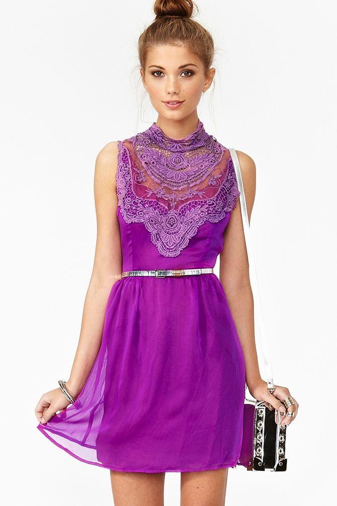 Lily Crochet Dress