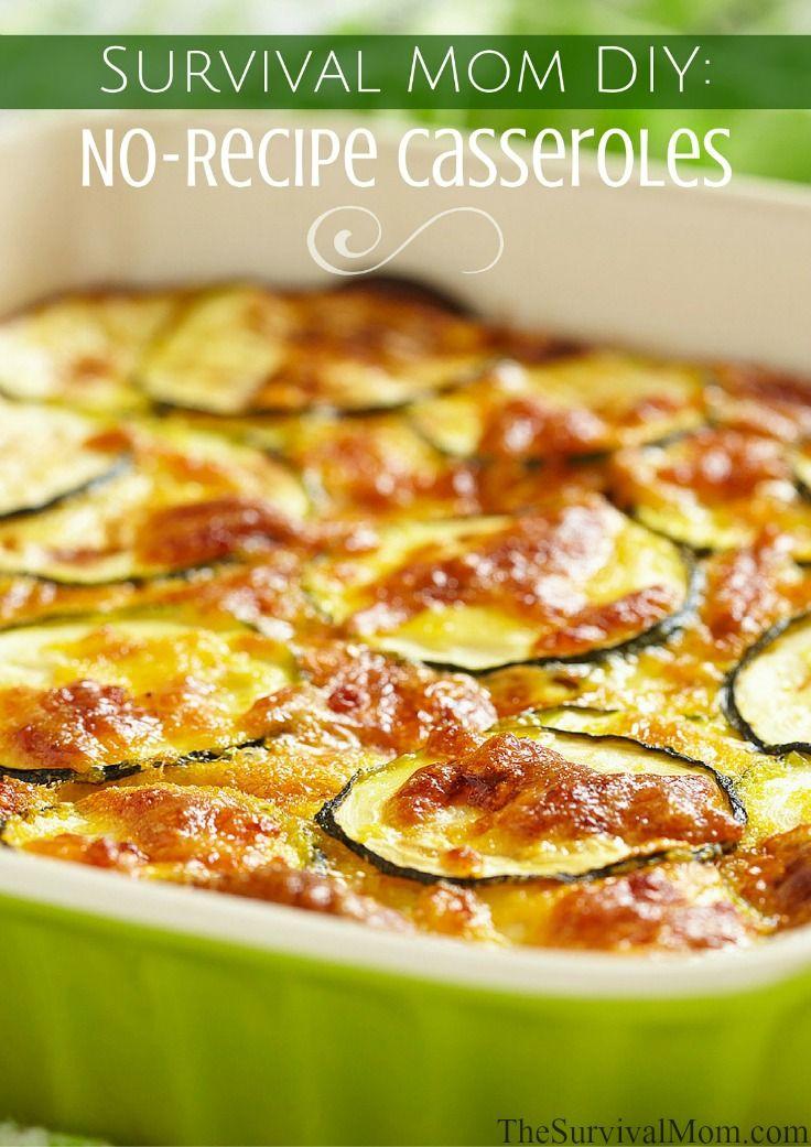 30 best favorite recipes images on pinterest food storage recipes survival mom diy no recipe casseroles forumfinder Choice Image