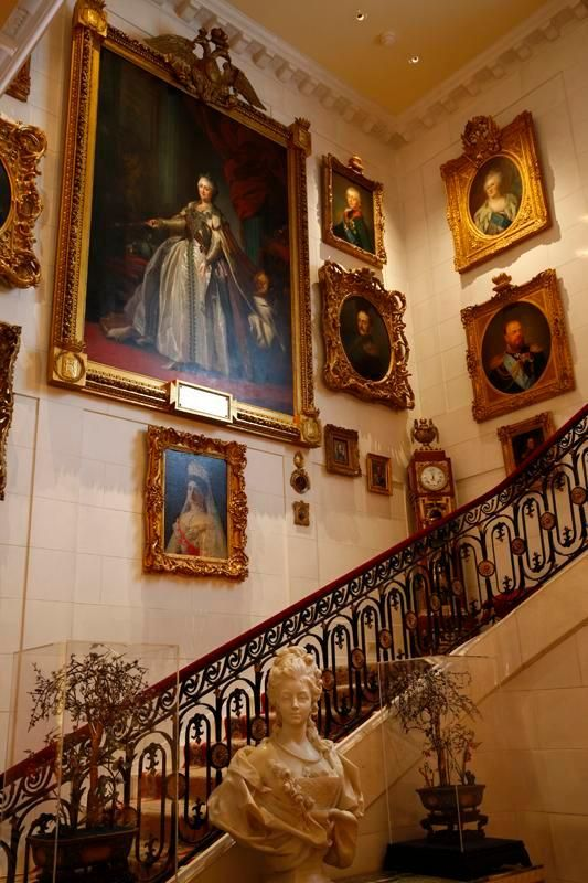 Inside the Washington, D.C., Hillwood Estate museum and garden are 18th-century Russian and French art and antiques collected by owner Marjorie Merriweather Post, heiress to the General Foods fortune.