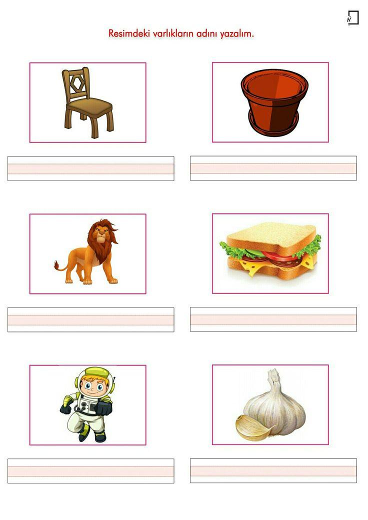 1. Sınıf Okuma Yazma Etkinlikleri S Sesi Resimli Dikte Çalışması