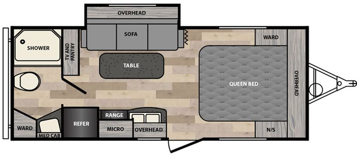 micro minnie floorplans winnebago rvs glers products travel trailers and