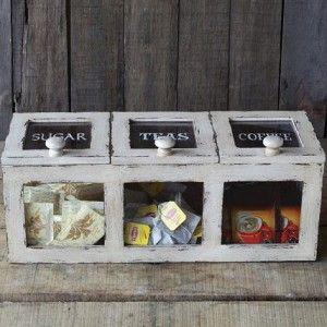 Coffee Tea Sugar Storage Bin 1