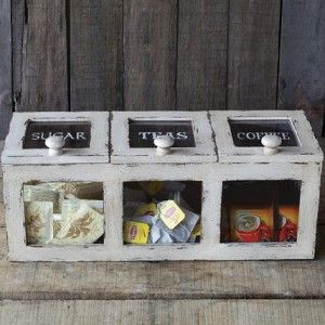 Coffee Tea Sugar Storage Bin 1