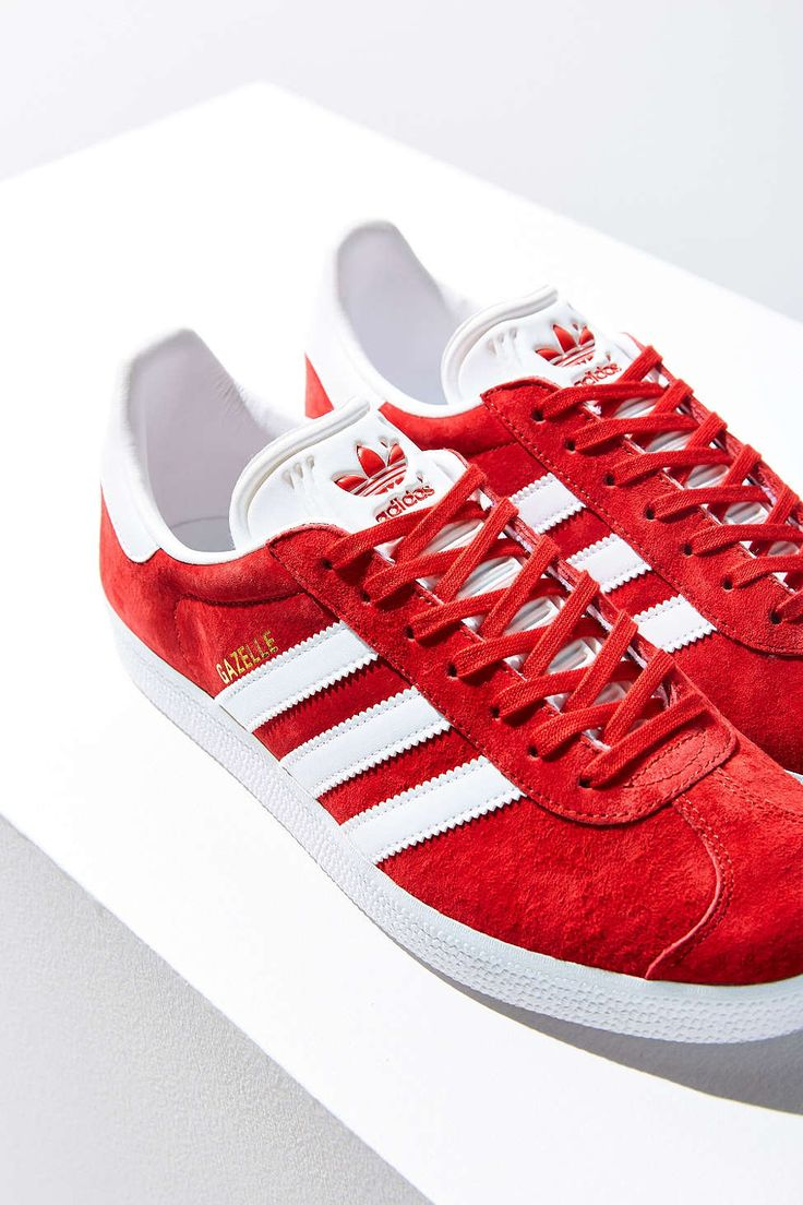 adidas Originals Gazelle Sneaker in Red
