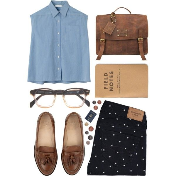 A fashion look from June 2013 featuring Abercrombie & Fitch jeans, Jack Wills loafers and Chloé blouses. Browse and shop related looks.