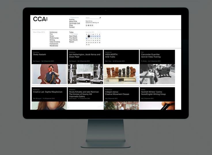 CCA responsive website designed by Graphical House.