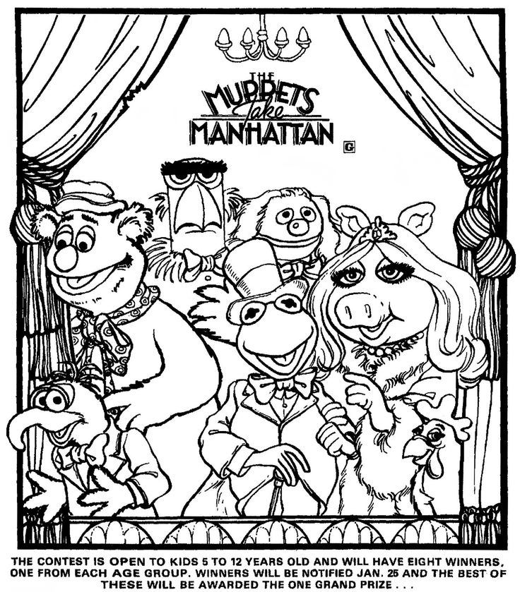103 Best Images About The Muppets On Pinterest: 9 Best Pobarvanke Images On Pinterest