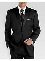 Jones New York Black Tuxedo Separates Coat