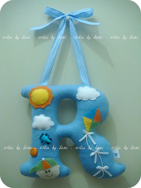 Kids letters #diy #interior